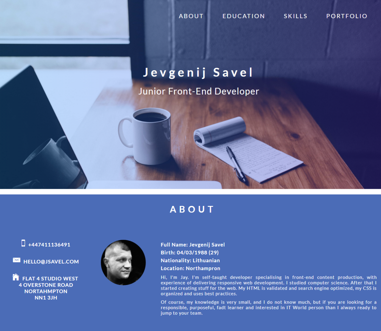 JSavel`s || Portfolio